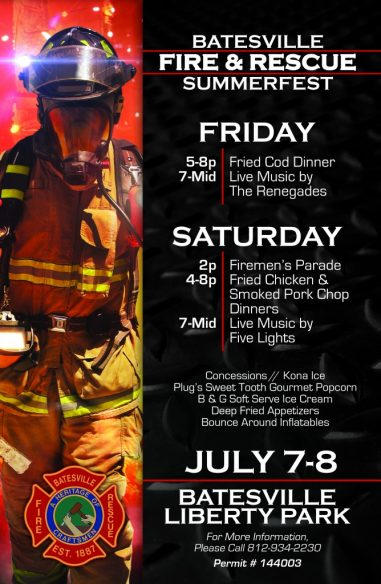 Batesville Fire-Rescue SUMMERFEST 2017