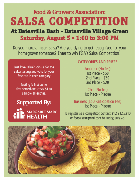 Salsa Competition at Batesville Bash