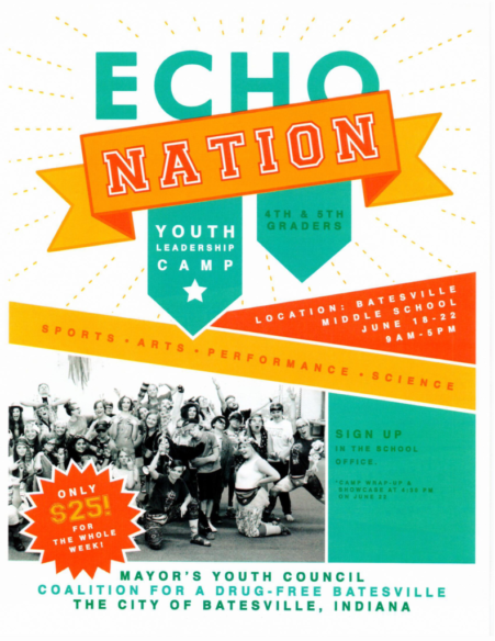 Echo Nation Youth Leadership Camp @ Batesville Middle School