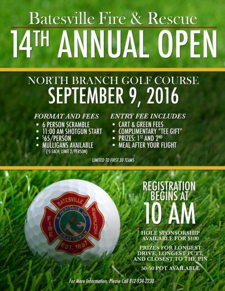 Batesville Fire & Rescue 14th Annual Open
