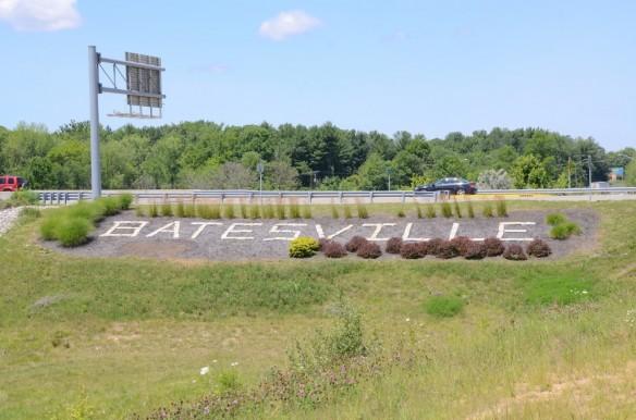 Batesville Sign Interstate Ramp