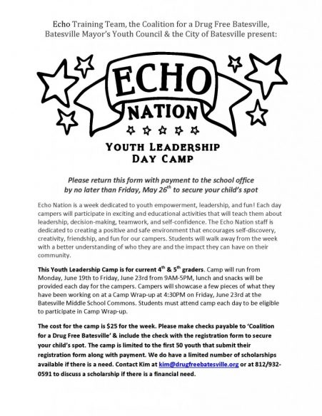 ECHO Nation Youth Leadership Camp