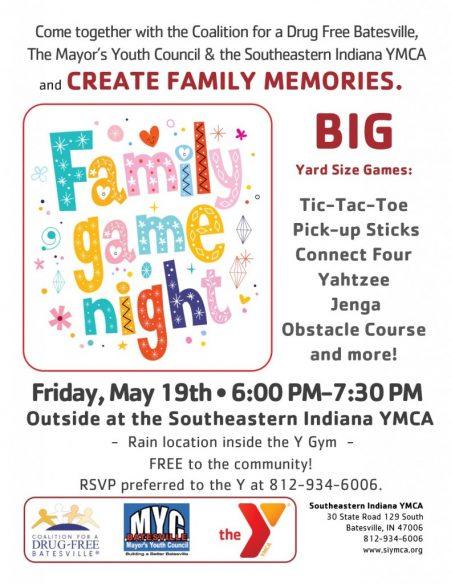 SEIYMCA Family Game Night
