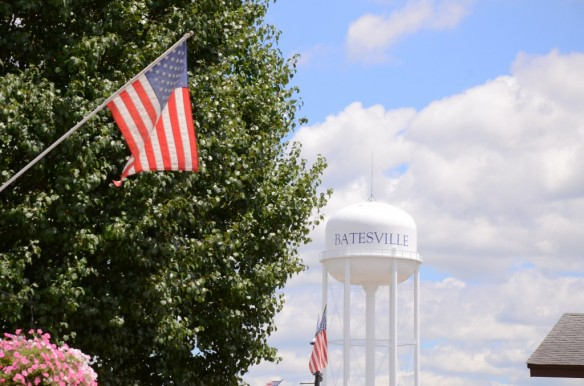 Flag & Water Tower