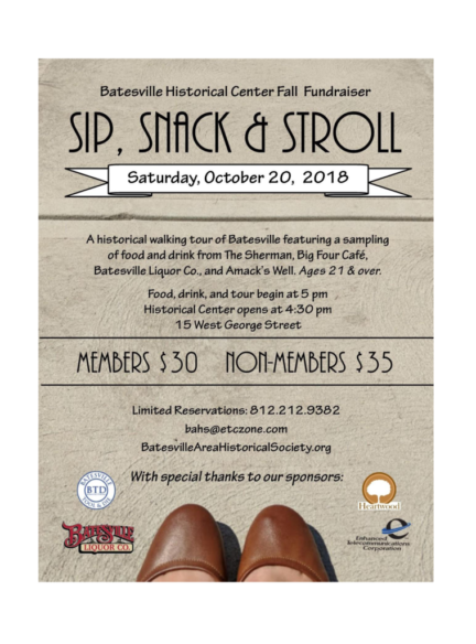 Sip, Snack & Stroll - BAHS