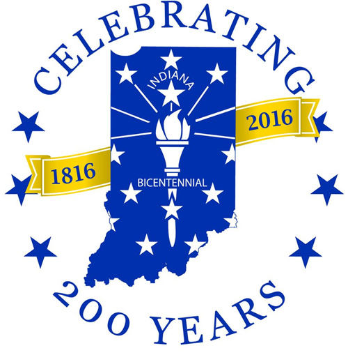 Indiana Bicentennial Logo