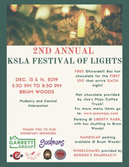 2nd Annual KSLA Festival of Lights