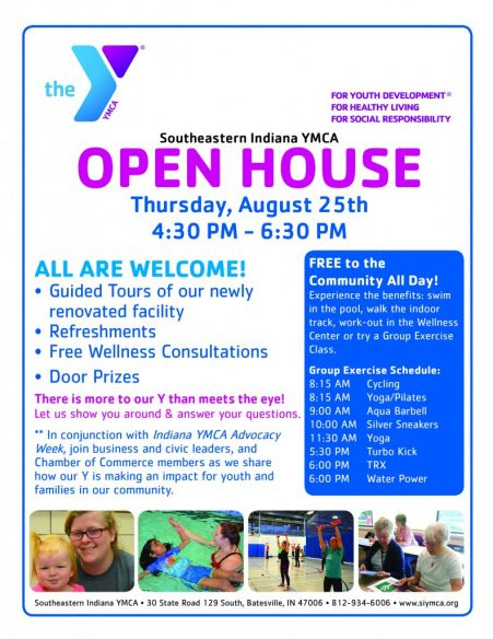 Southeastern Indiana YMCA Open House