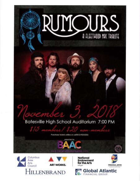 BAAC Presents: Rumours A Fleetwood Mac Tribute
