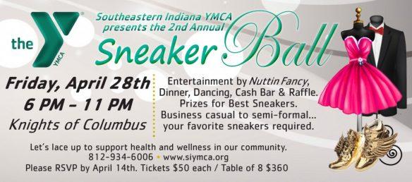 Southeastern Indiana YMCA Sneaker Ball @ RomWeber Marketplace