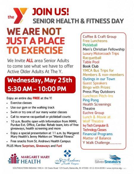 YMCA National Senior Health & Fitness Day @ Southeastern YMCA