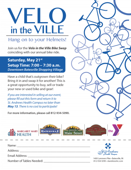Velo in the Ville - Get Psyched About Bikes! Bike Ride @ Batesville Downtown Bike Park | Batesville | Indiana | United States