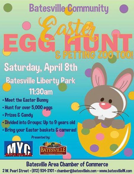 Chamber Easter Egg Hunt @ Batesville Liberty Park